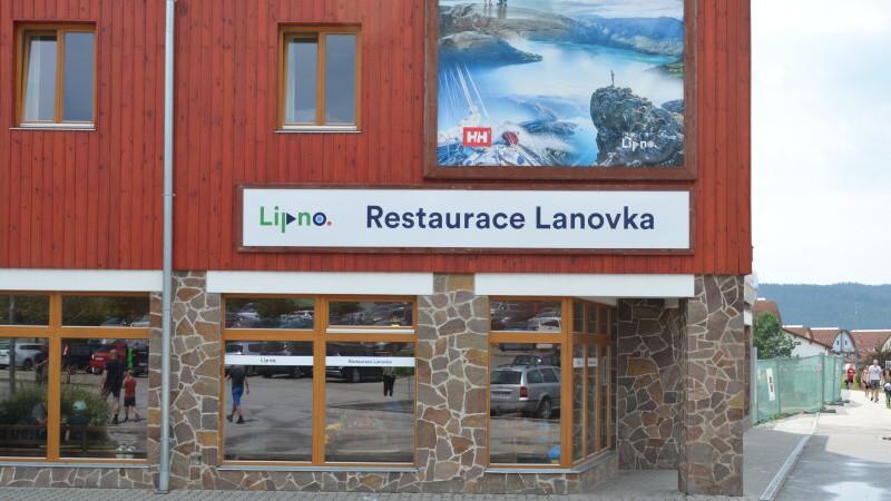 Restaurace Lanovka – Lipno nad Vltavou
