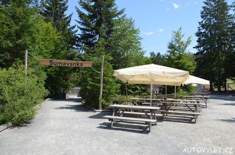 Restaurace Šumavanka - Království lesa - Lipno nad Vltavou