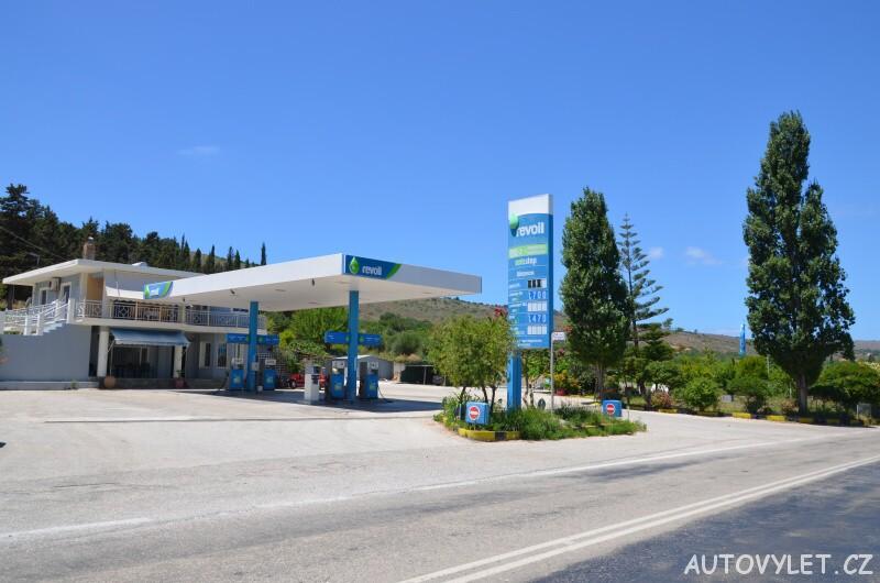 Revoil Kefalonia - benzínová pumpa