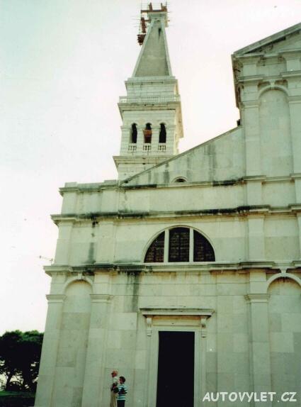 Rovinj kostel sv. Eufemie