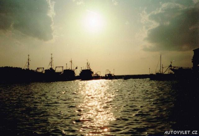Rovinj Chorvatsko přístav