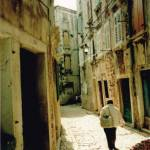 Rovinj Chorvatsko ulička 2