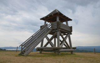 Rozhledna Jezerní vyhlídka - Horní Planá