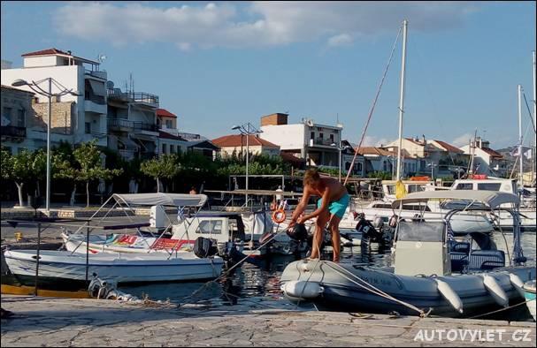 Rybářský přístav Astakos