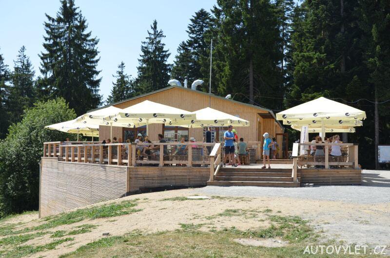 Stezka korunami stromů Lipno - restaurace 2