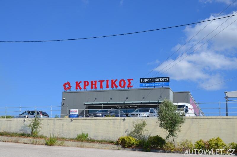 Supermarket - Argostoli Kefalonie Řecko