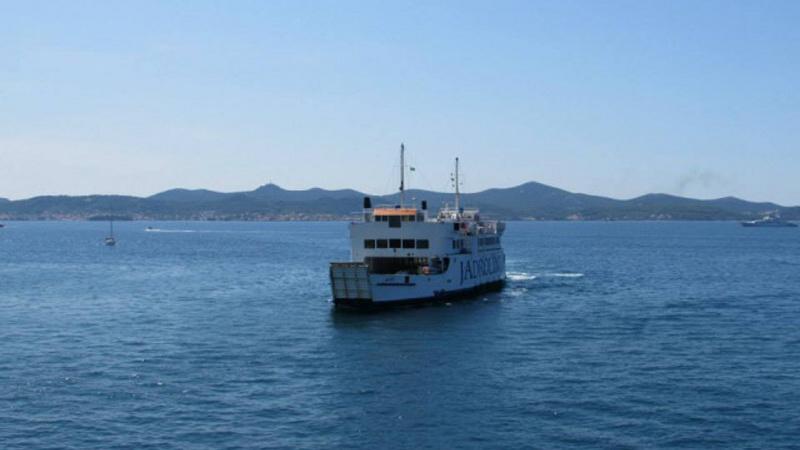 Ugljan Chorvatsko trajekt