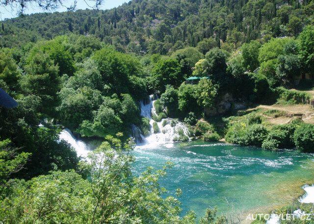 Vodopády Krka v Chorvatsku 2