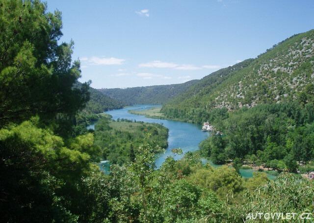 Vodopády Krka v Chorvatsku 3