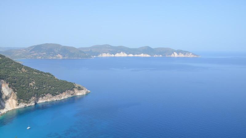 Výlet autem - Kefalonie Řecko
