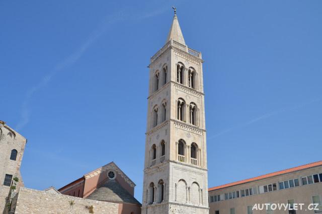 Zadar Chorvatsko - kostel sv.Donáta věž