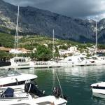 Baška Voda město Chorvatsko