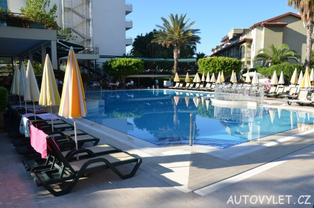 Bazén - Gardenia beach hotel Turecko