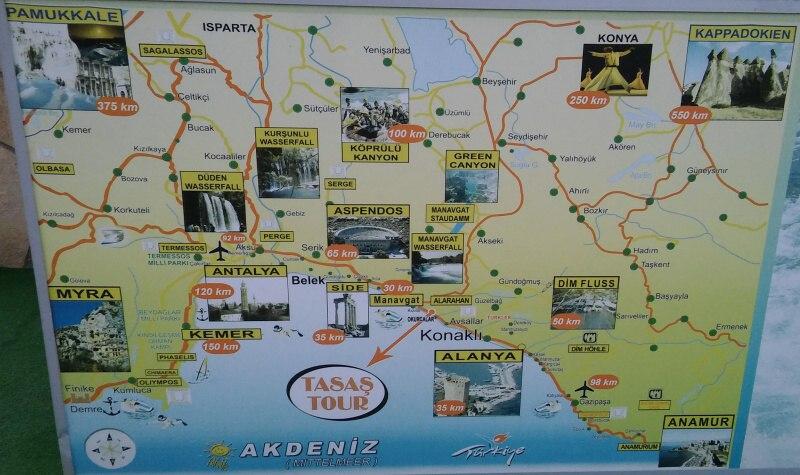 Fakultativní výlety v Turecku