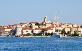 Korčula město - Chorvatsko