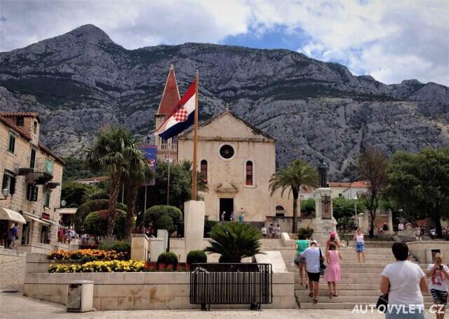 Kostel sv.Marka - Makarska Chorvatsko