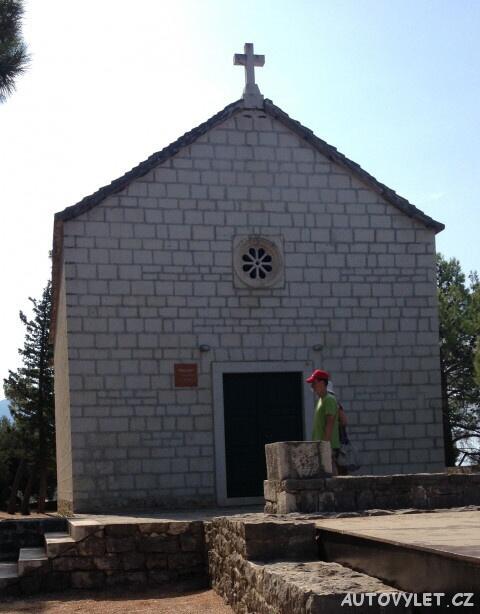 Kostel sv. Petra - Makarska Chorvatsko