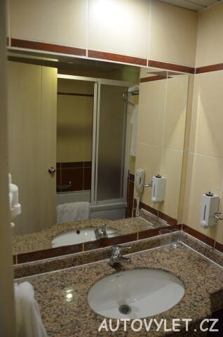 Koupelna - Gardenia beach hotel Turecko