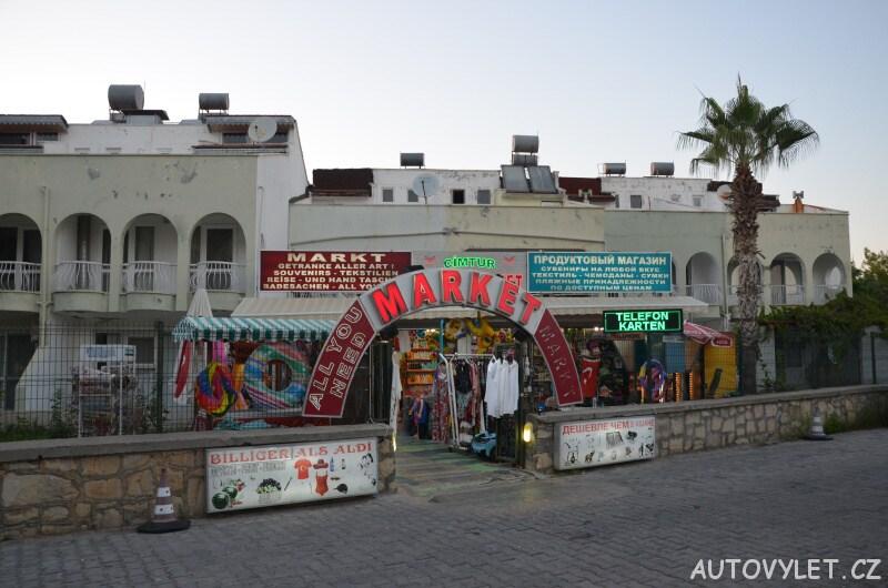 Market - Okurcalar Turecko