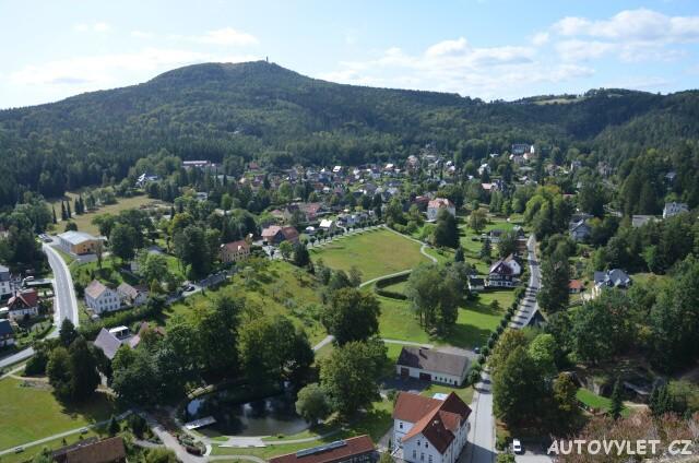 Město Oybin Německo