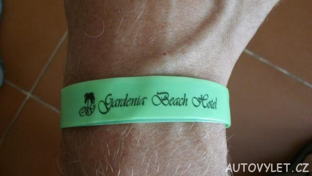 Náramek - Gardenia beach hotel Turecko