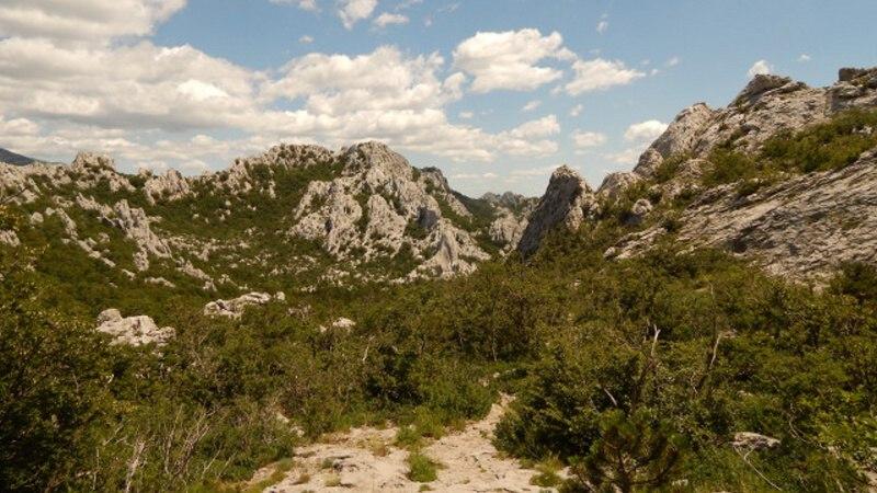 Národní park Paklenica Chorvatsko