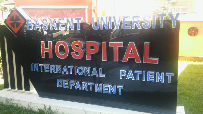 Nemocnice Alanya Turecko