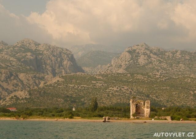 Paklenica národní park Chorvatsko