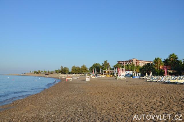 Pláž 2 - Gardenia beach hotel Turecko