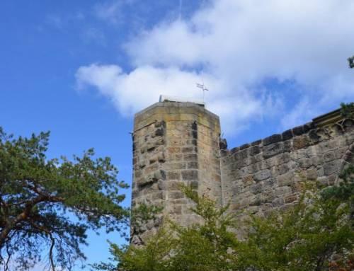 Rozhledna Oybin je vyhlídková věž na stejnojmenném hradu vNěmecku