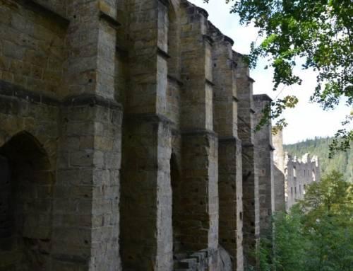 Oybin hrad a klášter v Německu je krásný rodinný výlet autem i vlakem