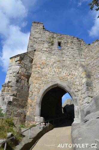 Třetí hradní brána Oybin
