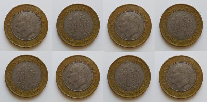 Turecká měna - Lira - mince
