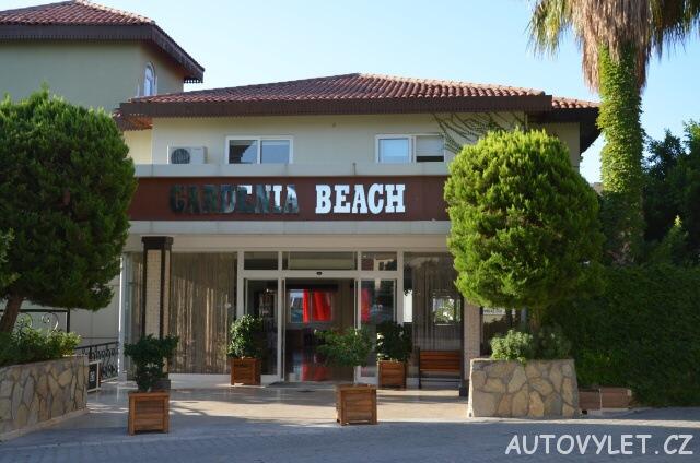 Vchod - Gardenia beach hotel Turecko