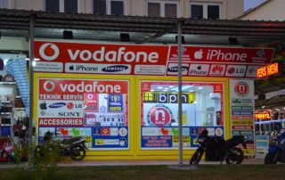 Vodafone prodejna Turecko