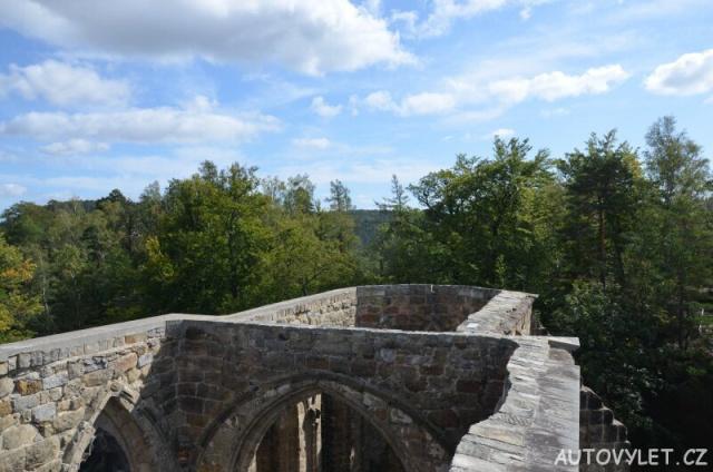 Výhled z rozhledny hradu Oybin 2