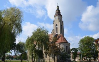 Vyhlídková věž kostela Církve československé husitské Duchcov