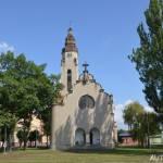 Vyhlídková věž kostela Církve československé husitské Duchcov 2