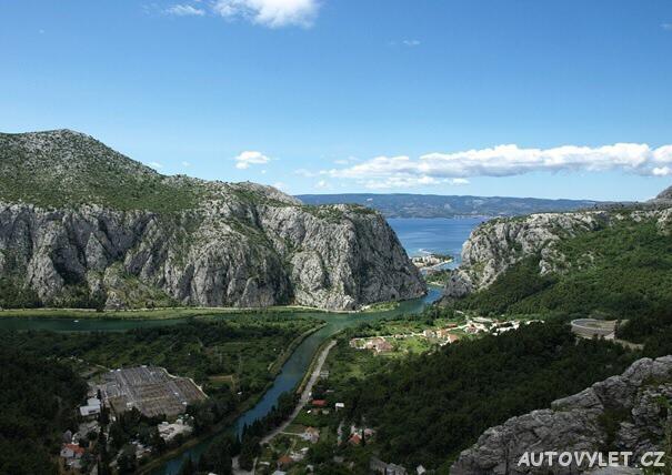 Výlet Baška Voda - Omiš Chorvatsko