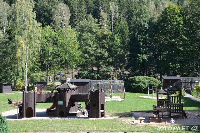Dětské hřiště - Wildpark Osterzgebirge