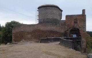 Krakovec - hrad - zřícenina