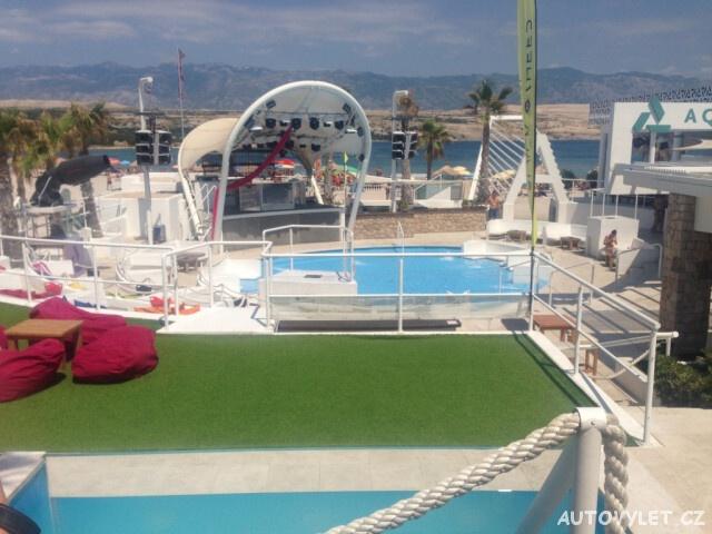 Novalja Chorvatsko bazén