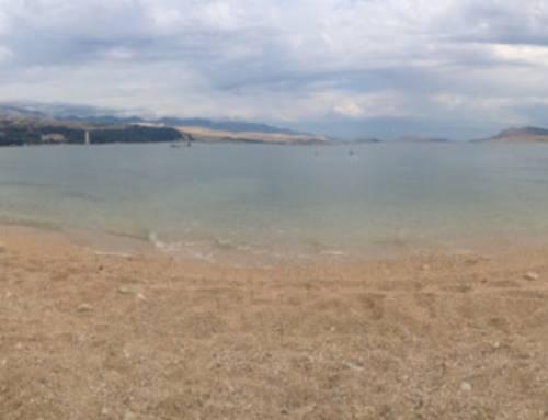 Novalja, Zrče beach – tak trochu jiné Chorvatsko