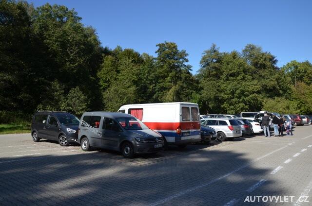 Parkoviště - Wildpark Osterzgebirge Geising