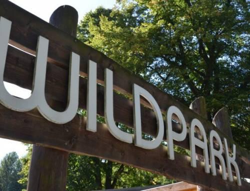 Wildpark Osterzgebirge je zoo u Altenbergu vNěmecku