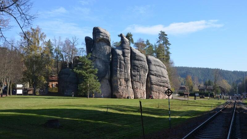 Adršpach skalní město