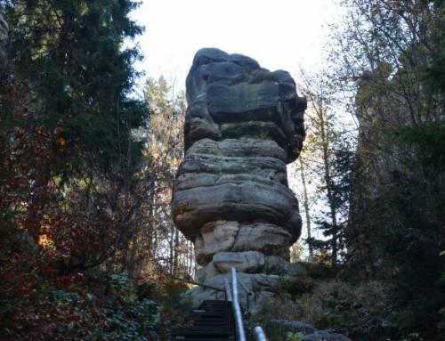 Zřícenina hradu Skály – Bischofstein – Teplice nad Metují