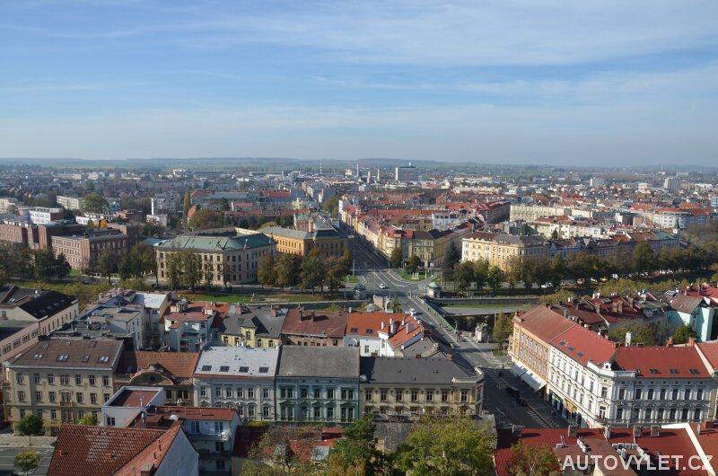 Hradec Králové z Bílé věže