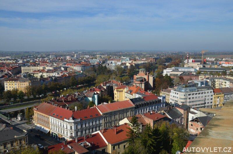 Hradec Králové z Bílé věže 2