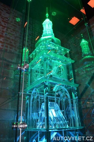Skleněný model - Bílá věž Hradec Králové